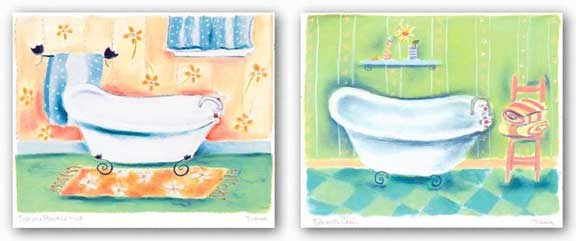 Tub Set by Dona Turner