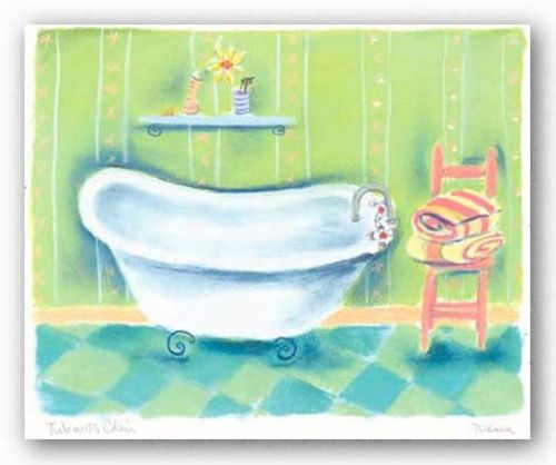 Tub With Chair by Dona Turner