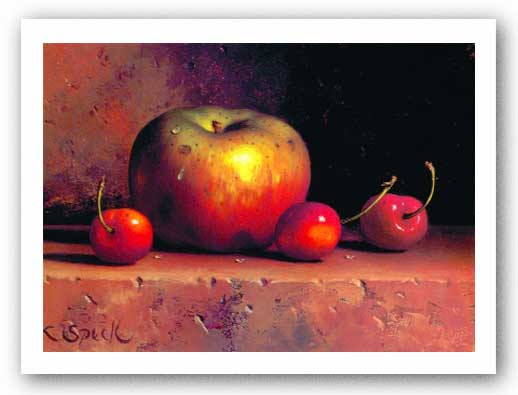 Apples and Cherries by Loran Speck