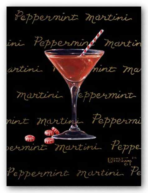 Peppermint Martini by Janet Kruskamp