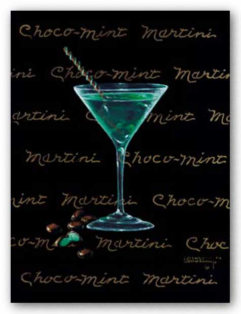 Choco-Mint Martini by Janet Kruskamp