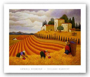 Village Harvest by Lowell Herrero