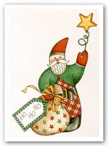 A Very Plaid Santa by Karen Avery