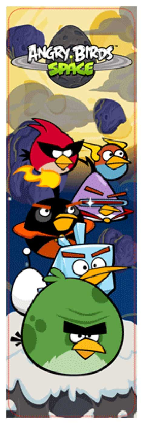 Angry Birds - Space by Collector's 3-D Bookmark