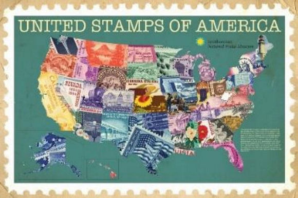 United Stamps of America - Smithsonian Institution