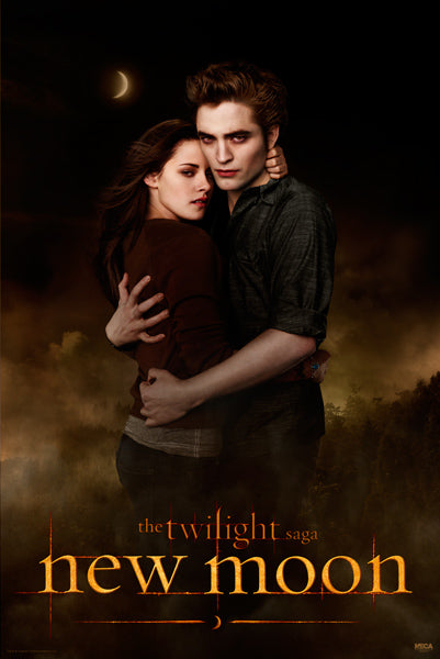 Twilight New Moon Movie Poster - Edward and Bella