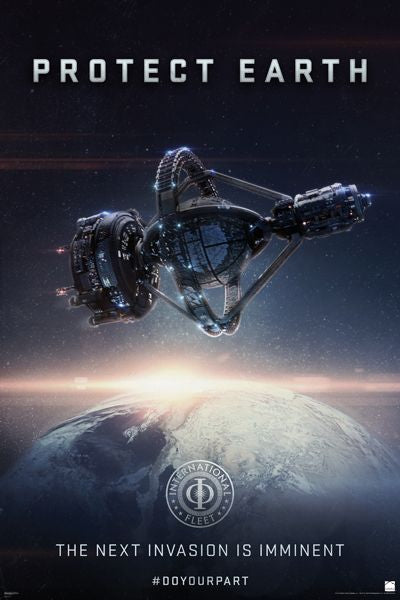 Ender's Game - Protect Earth - Movie Poster