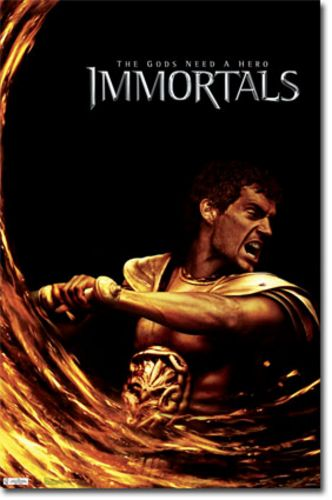 Immortals Movie Poster - Theseus (Henry Cavill)
