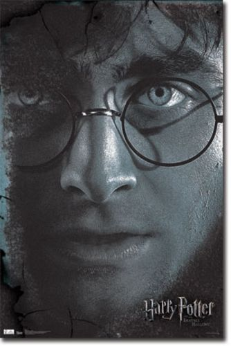 Harry Potter and the Deathly Hallows Part 2 Movie Poster - Harry