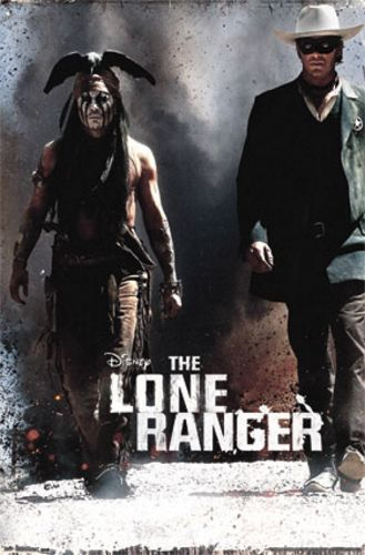 The Lone Ranger Movie Poster - One Sheet
