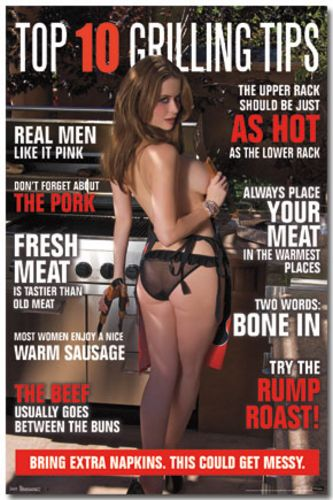 Top 10 Grilling Tips - BBQ Girl Pinup