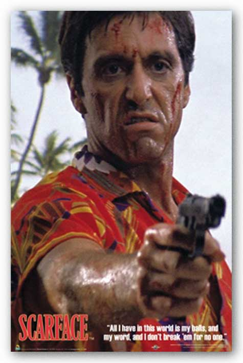 Scarface - Hawaiian Shirt
