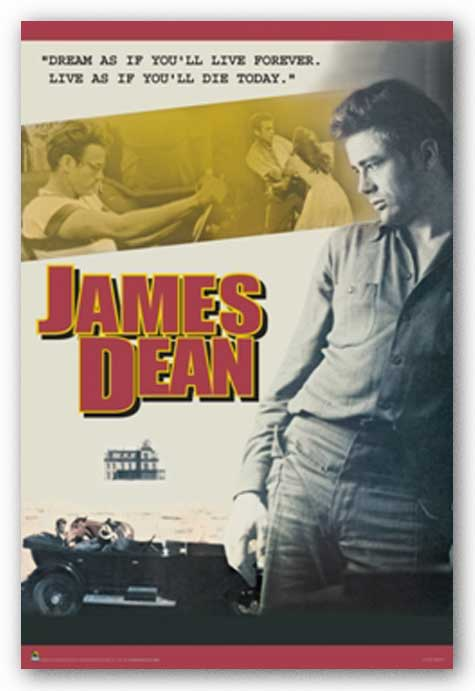 James Dean - Dream as if you'll live forever