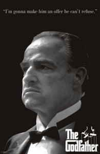 The Godfather - An Offer He Can't Refuse - Don Corleone (Marlon Brando)