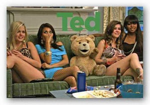 Ted - Girls on Couch