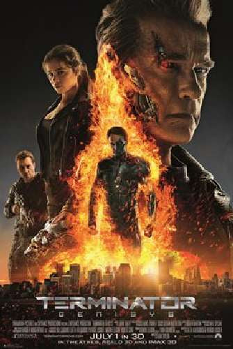 Terminator Genisys Movie Poster One Sheet