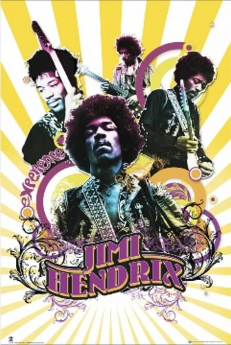 Jimi Hendrix Collage