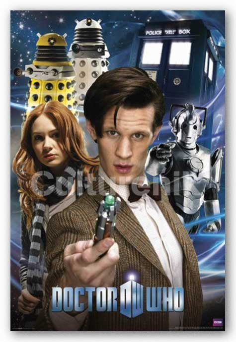 Doctor Who - Collage