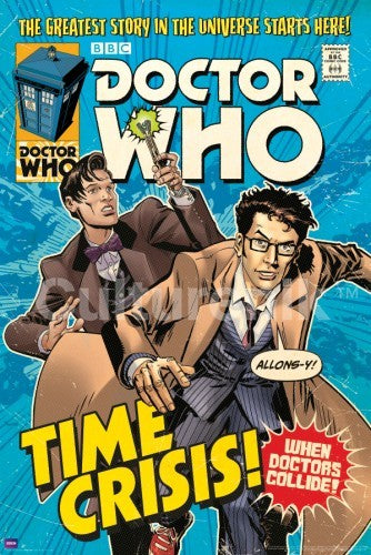 Time Crisis Doctor Who Comic Cover