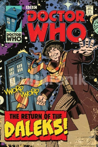 Return of the Daleks Doctor Who Comic Cover