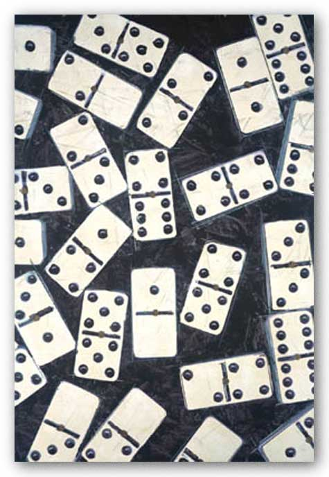 Domino Theory II by Susan Gillette