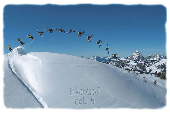 Inverted Cab 5 - Snowboarder