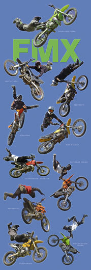 Freestyle Motorcross - FMX - Door Poster