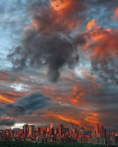 Clouds Over New York City  by Hank Gans