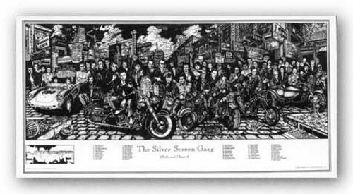 The Silver Screen Gang by Howard Teman