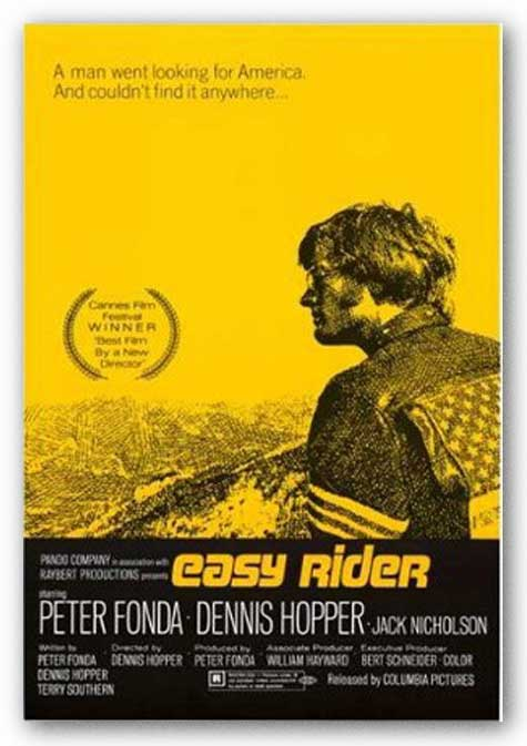 Easy Rider Movie Poster - One Sheet