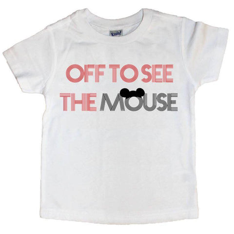 OFF TO SEE THE MOUSE TEE (kids)