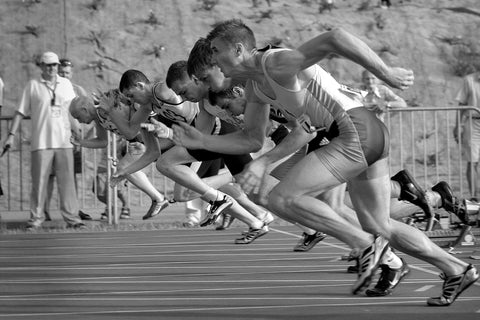 Athletes Run Fast - Brainsharp