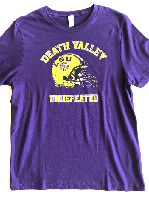 LSU UNDEFEATED TEE