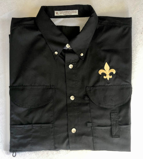 Men's Fishing Shirt with Gold FDL