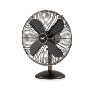 "16"" Gunmetal Desk Fan"