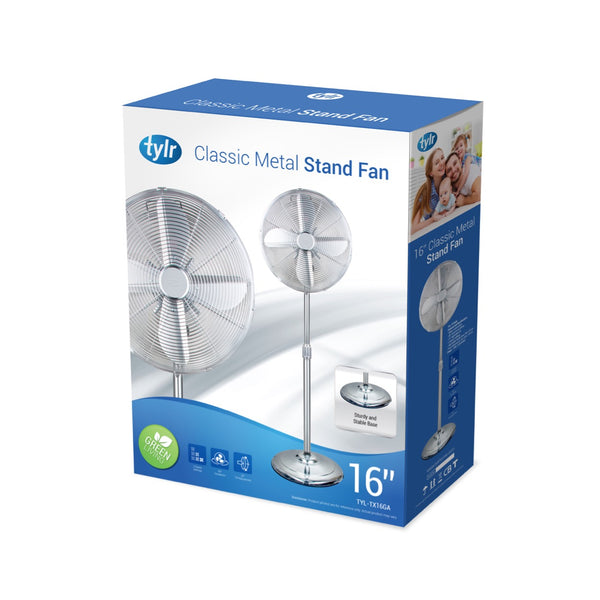 "16"" Classic Metal Stand Fan"