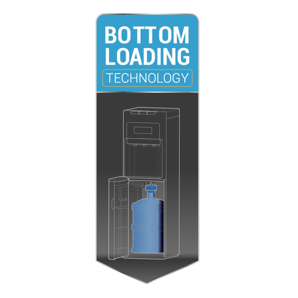 how to clean a bottom loading water cooler with vinegar