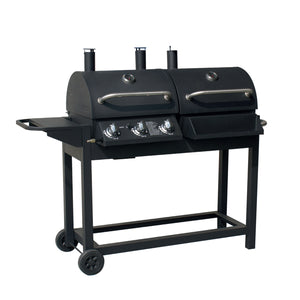 Charcoal & Gas Outdoor BBQ Grill