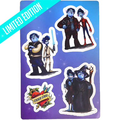 Grand & Glorious Sticker Sheet