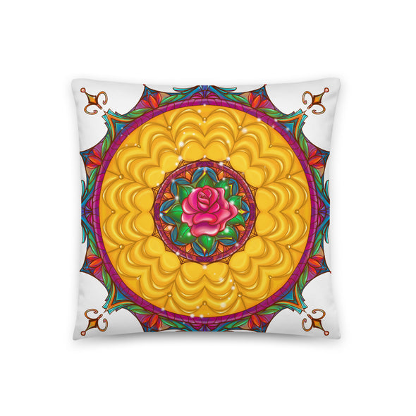 Enchanted Rose Pillow