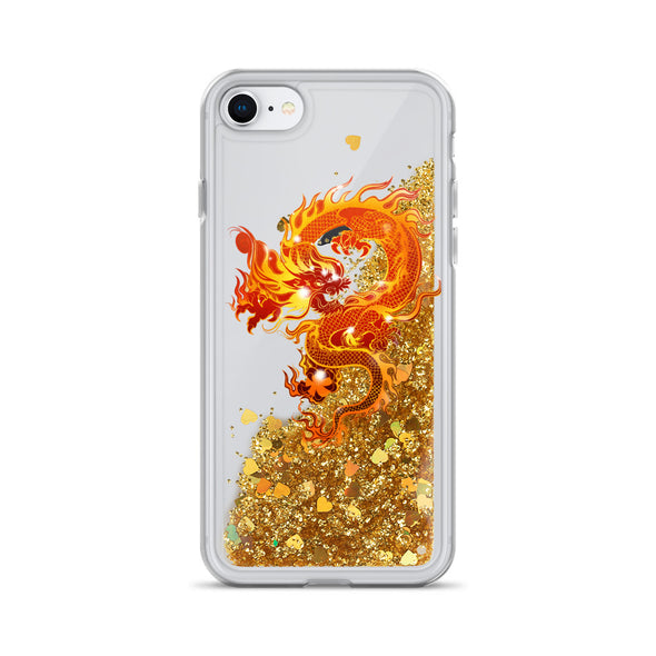 Honor Liquid Glitter Phone Case