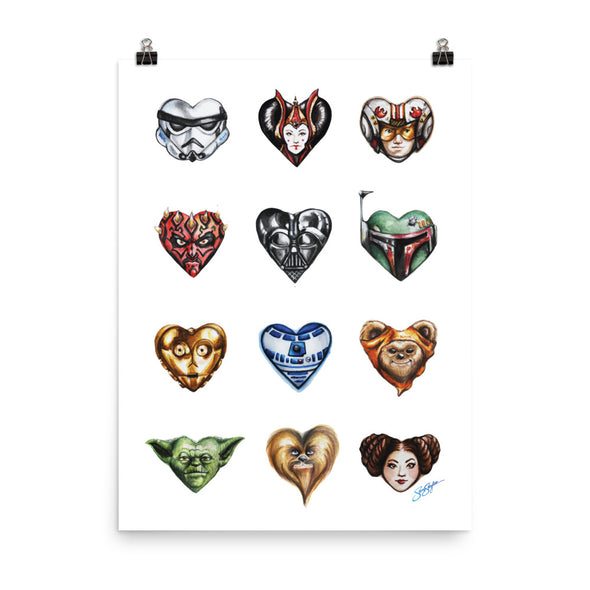 I Heart the Force Poster