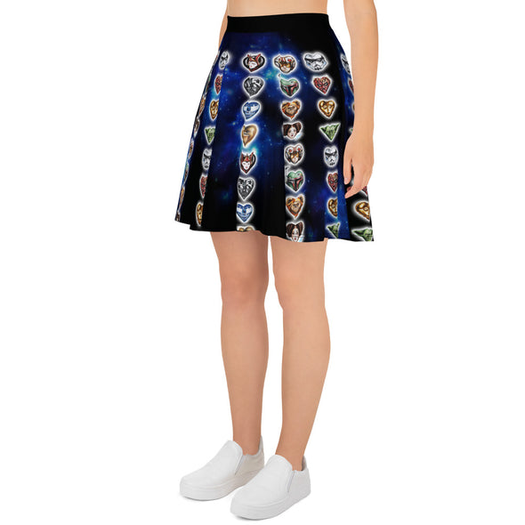 I Heart the Force Skater Skirt