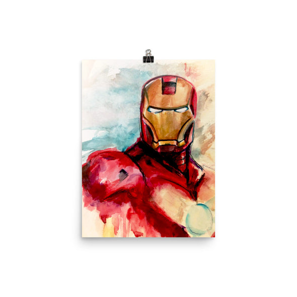 I Am Ironman Art Print
