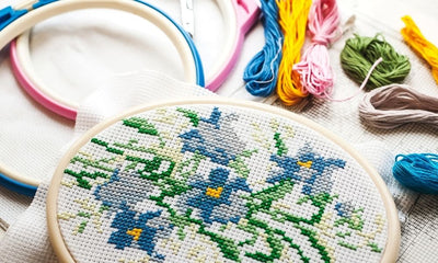 A Beginner's Guide to Cross Stitching