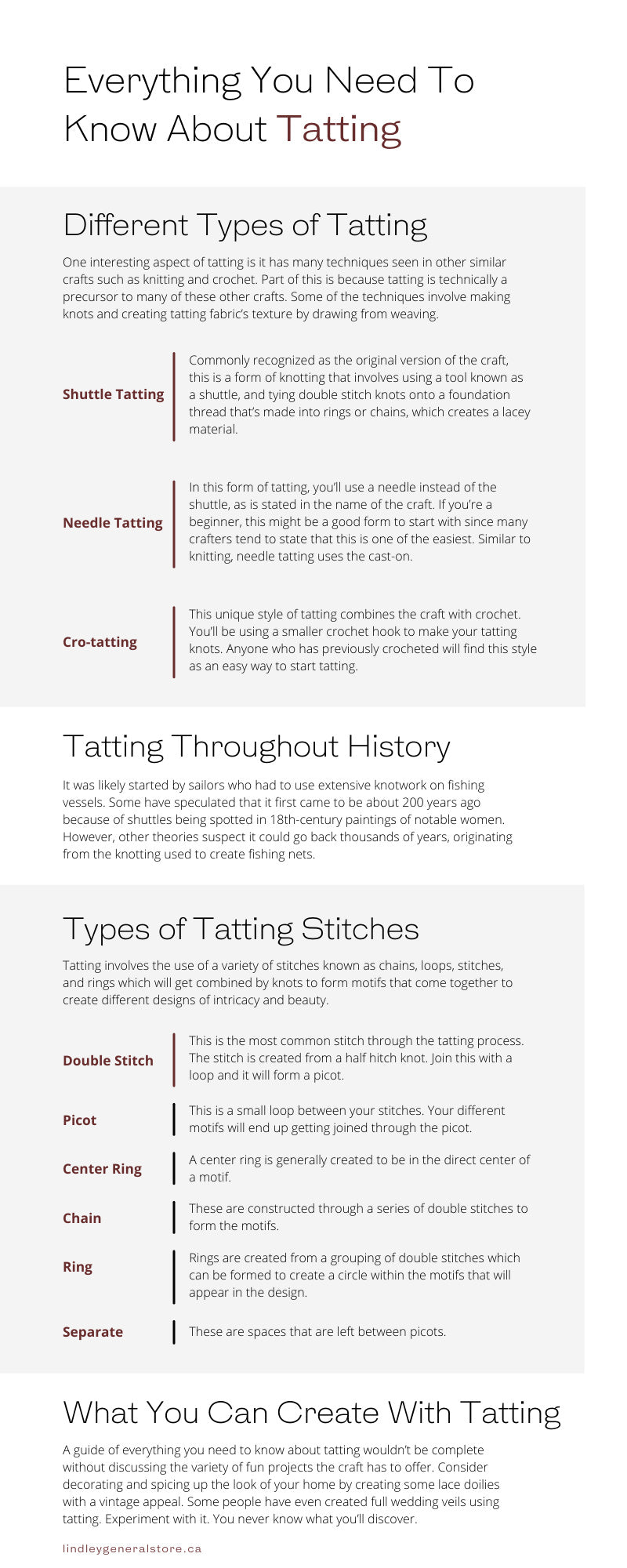 Everything You Need To Know About Tatting