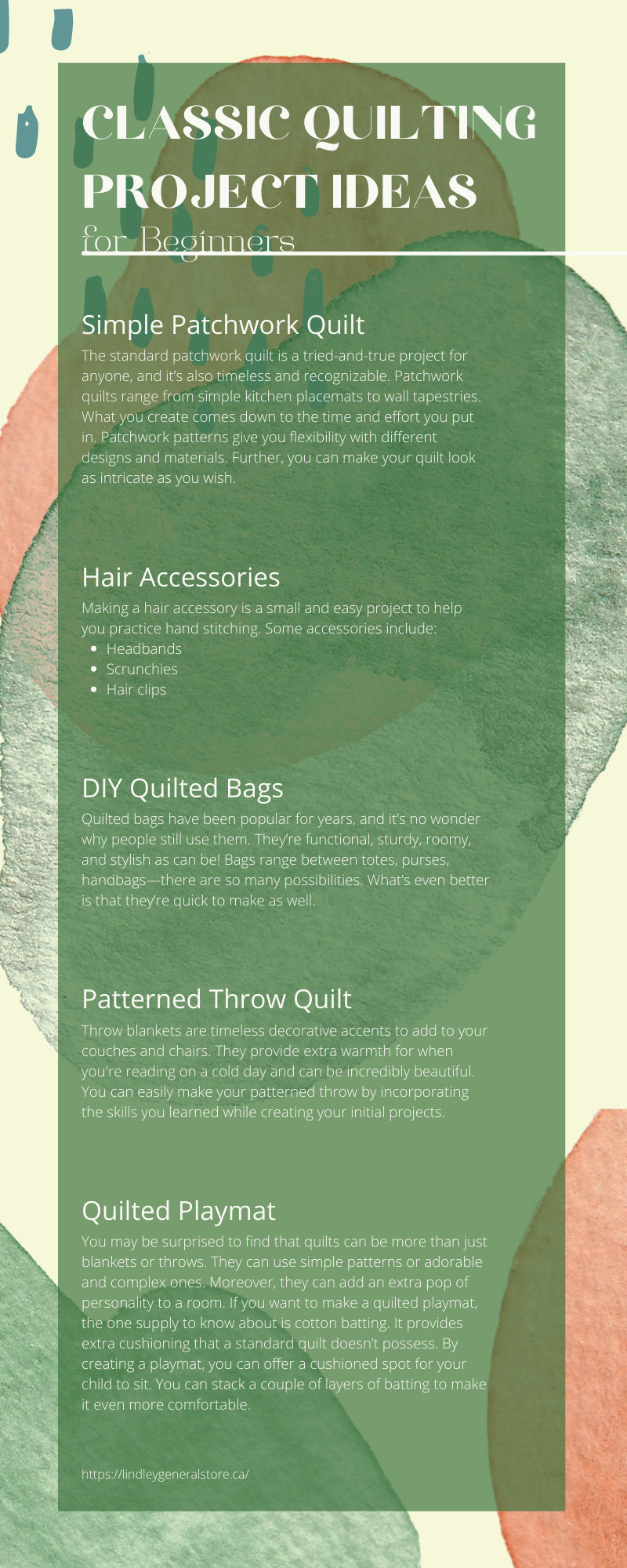 Classic Quilting Project Ideas for Beginners