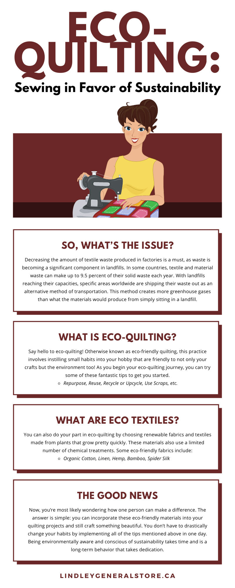 Eco-Quilting: Sewing in Favor of Sustainability