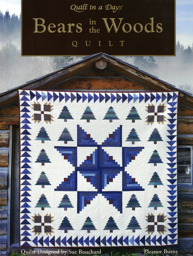 Bears in the Woods Quilt - Softcover