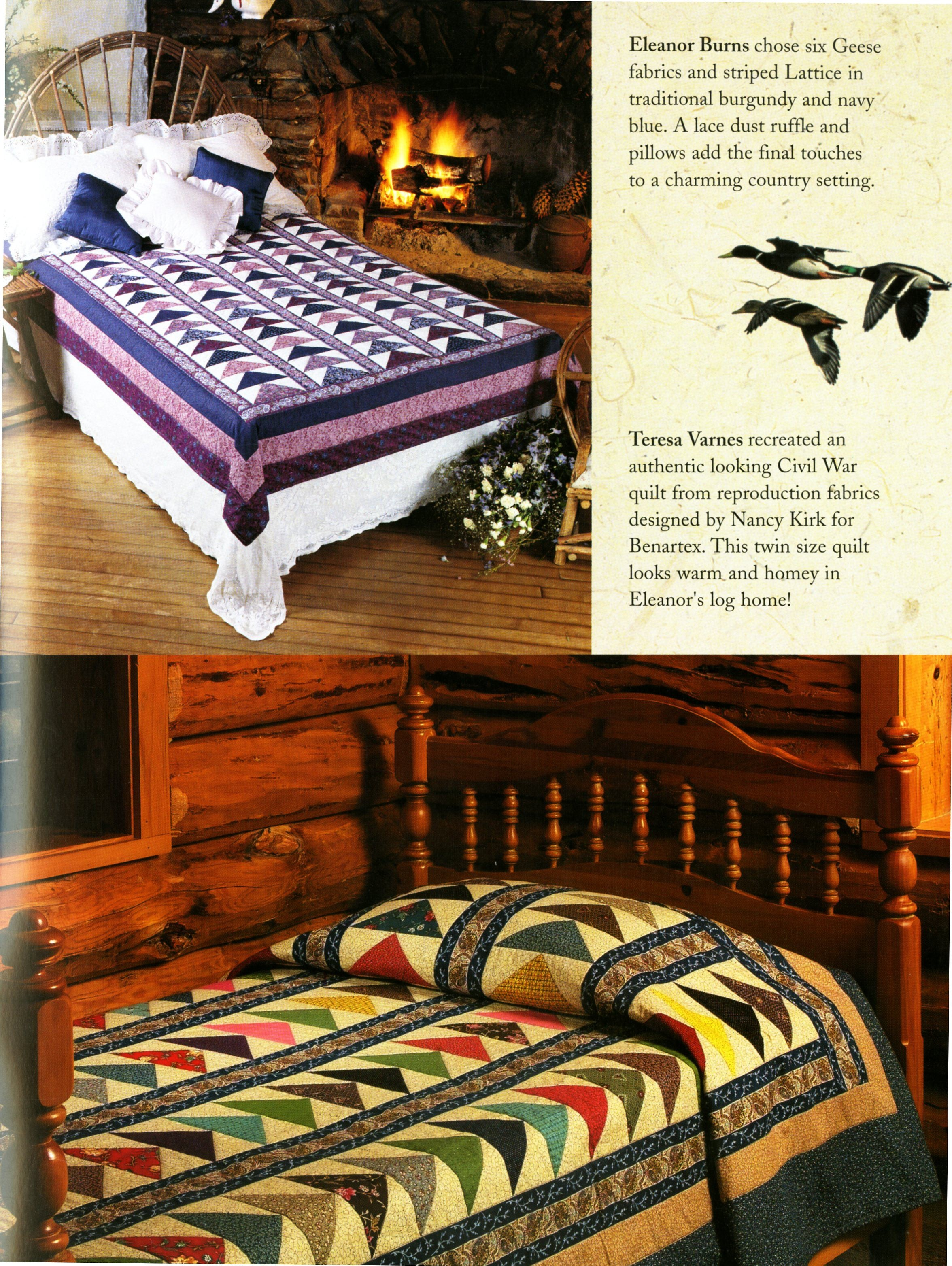 Flying Geese Quilt - Softcover